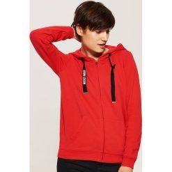 Bluza Mickey Mouse z uszami - Czerwony. Czerwone bluzy rozpinane damskie House, l, z motywem z bajki. Za 99,99 zł.