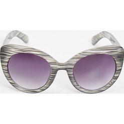 Okulary przeciwsłoneczne damskie: Okulary przeciwsłoneczne – Szary