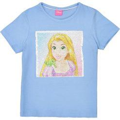 Bluzki dziewczęce bawełniane: Dwustronna koszulka z cekinami 5/10 lat
