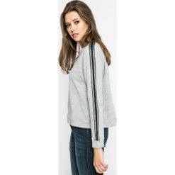 Lee - Bluza. Szare bluzy damskie Lee, l, z bawełny, bez kaptura. W wyprzedaży za 159,90 zł.