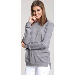 Szary Sweter All About Love. Szare swetry klasyczne damskie other, na jesień, l. Za 89,99 zł.