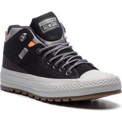 Trampki CONVERSE - Ctas Street Boot Hi 162360C Black/Black/Dolphin. Czarne trampki męskie marki Converse, z gumy. W wyprzedaży za 289,00 zł.