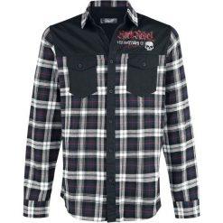 Rock Rebel by EMP Legendary Koszula czarny. Czarne koszule męskie na spinki marki Leonardo Carbone, s, z materiału, z długim rękawem. Za 199,90 zł.