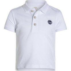 Timberland BABY LAYETTE  Koszulka polo weiß. Białe t-shirty chłopięce Timberland, z bawełny. Za 129,00 zł.