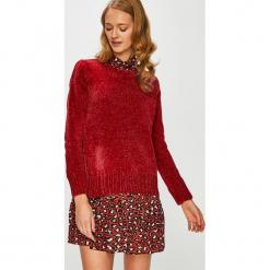 Broadway - Sweter. Czerwone swetry oversize damskie Broadway, l, z dzianiny. Za 119,90 zł.