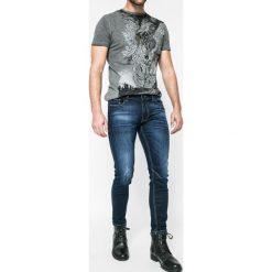 Medicine - Jeansy Xmas. Niebieskie jeansy męskie slim marki MEDICINE, z bawełny. W wyprzedaży za 79,90 zł.