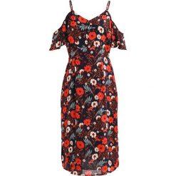 Sukienki hiszpanki: Glamorous Sukienka letnia black/red