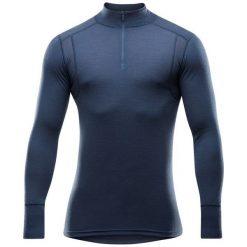 Devold Koszulka Męska Hiking Man Half Zip Neck Night M. Niebieskie odzież termoaktywna męska marki Oakley, na lato, z bawełny, eleganckie. Za 309,00 zł.