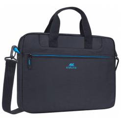"""Riva Case Regent 13 - 14"""" czarna. Czarne torby na laptopa marki RivaCase, w paski. Za 99,90 zł."""