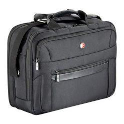 Torby na laptopa: Torba Wenger na laptopa biznesowa dwukomorowa 17″ (W73012293)