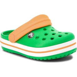 Klapki damskie: Klapki CROCS - Crocsband Clog K 204537 Grass Green/White/Blazing Orange