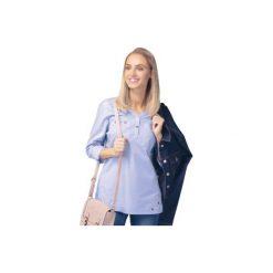 Bluzka tkanina z kieszonkami gładka. Szare bluzki z odkrytymi ramionami marki TXM. Za 29,99 zł.