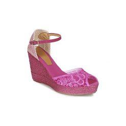 Sandały Betty London  EDOULINE. Czerwone sandały damskie marki Betty London. Za 231,20 zł.