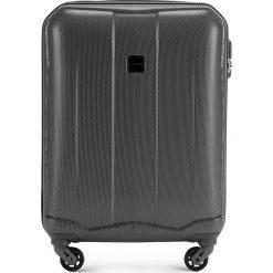 Walizka kabinowa 56-3A-371-00. Szare walizki marki Wittchen, z gumy, małe. Za 159,00 zł.