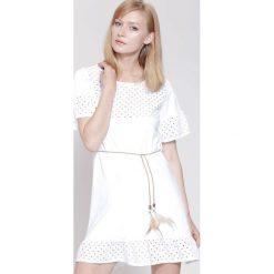 Sukienki: Biała Sukienka Morning Winds