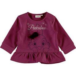 """Bluza """"Humper"""" w kolorze różowym. Czerwone bluzy niemowlęce name it girls, z bawełny. W wyprzedaży za 49,95 zł."""