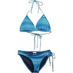 Stroje dwuczęściowe damskie: Bench Triangle Jaquard Bikini Set Bikini niebieski/turkusowy