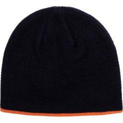 Czapka CZG0000012. Brązowe czapki zimowe męskie Giacomo Conti, na jesień, z wełny, klasyczne. Za 89,00 zł.