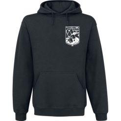 Brutal Knack GNSLM Bluza z kapturem czarny. Brązowe bluzy męskie rozpinane marki SOLOGNAC, m, z elastanu. Za 184,90 zł.