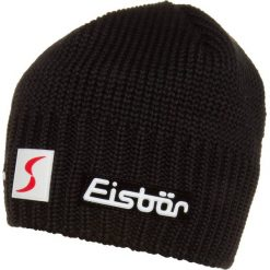 Eisbär TROP Czapka black. Czarne czapki męskie Eisbär. W wyprzedaży za 151,20 zł.