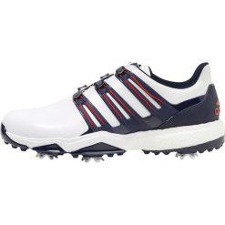 Buty do tenisa męskie: adidas Golf PWRBAND BOA BOOST Obuwie do golfa white/night indigo/bold red