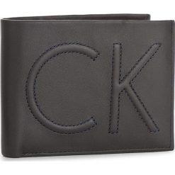 Duży Portfel Męski CALVIN KLEIN - Filip 5Cc + Coin K50K503366 001. Czarne portfele męskie marki Calvin Klein, ze skóry. W wyprzedaży za 219,00 zł.