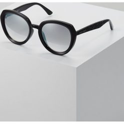 Okulary przeciwsłoneczne damskie aviatory: Jimmy Choo MACE Okulary przeciwsłoneczne black glitter