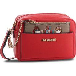 Torebka LOVE MOSCHINO - JC4279PP06KK0500  Rosso. Czerwone listonoszki damskie marki Love Moschino, ze skóry ekologicznej. W wyprzedaży za 499,00 zł.