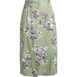 Długie spódnice: MINKPINK WANDERER BUTTON MIDI SKIRT Długa spódnica green
