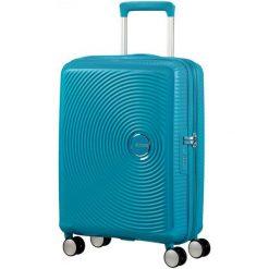 American Tourister Walizka Soundbox 55, Summer Blue. Niebieskie walizki marki American Tourister. W wyprzedaży za 449,00 zł.