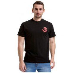 T-shirty męskie: Meatfly T-Shirt Męski Bruce M Czarny