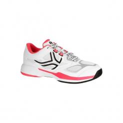 Buty tenisowe TS560 damskie. Białe buty do tenisu damskie ARTENGO, z kauczuku. W wyprzedaży za 119,99 zł.