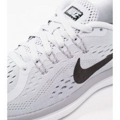 Buty do biegania damskie: Nike Performance FLEX 2017 RN Obuwie do biegania treningowe pure platinum/black/wolf grey/cool grey