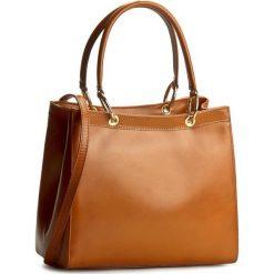 Torebka CREOLE - K10323 Koniak. Brązowe torebki klasyczne damskie Creole, ze skóry. W wyprzedaży za 209,00 zł.