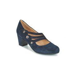 Czółenka Perlato  FERRER. Niebieskie buty ślubne damskie PERLATO. Za 455,20 zł.