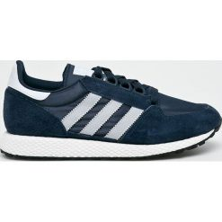 Adidas Originals - Buty Forest Grove. Szare halówki męskie adidas Originals, z materiału, na sznurówki. Za 329,90 zł.