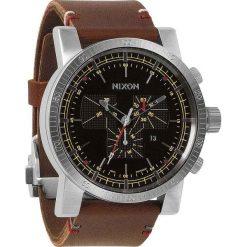 Zegarki męskie: Zegarek męski Black Brown Nixon Mangacon Leather A2671019