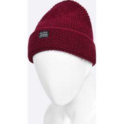 Blend - Czapka. Czerwone czapki zimowe męskie marki Blend, na zimę, z dzianiny. W wyprzedaży za 19,90 zł.
