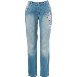 """Spodnie z wysokim stanem: Dżinsy """"Tina"""" – Straight fit – i w kolorze niebieskim"""