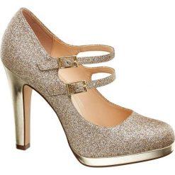 Szpilki: szpilki damskie Graceland złote