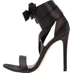 Sandały damskie: New Look TWEET Sandały na obcasie black