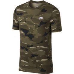 Nike T-Shirt Męski M Nsw Tee Camo Pack 1/Neutral Olive/Medium Olive/White Xl. Białe t-shirty męskie Nike, l, z bawełny. Za 119,00 zł.