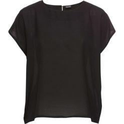 Bluzki damskie: Bluzka bonprix czarno-biały
