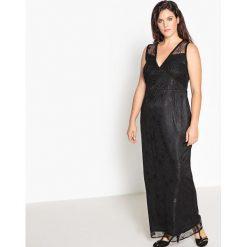 Długie sukienki: Długa gładka dopasowana sukienka bez rękawów