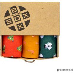 Skarpetki męskie: Box Świąteczny (1) - Skarpetki Sox in the Box
