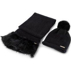 Czapki damskie: Zestaw Szalik i Czapka TRUSSARDI JEANS – Kit Hat/Scarf Knitted Ecofur 59Y00000 K299