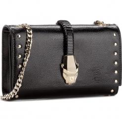 Torebka CAVALLI CLASS - Heritage C72PWCNV0012999  Black. Czarne torebki klasyczne damskie marki Cavalli Class, ze skóry. W wyprzedaży za 629,00 zł.