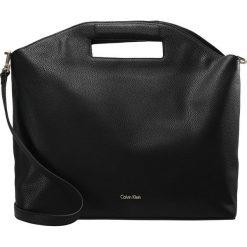 Shopper bag damskie: Calvin Klein CARRYALL LARGE GRAB TOTE Torba na zakupy black