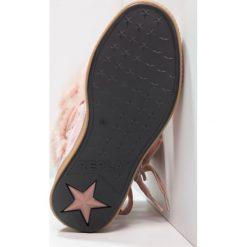 Buty zimowe damskie: Replay Botki sznurowane pink