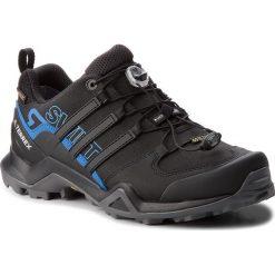 Buty adidas - Terrex Swift R2 Gtx GORE-TEX AC7829 Cblack/Cblack/Brblue. Czarne buty trekkingowe męskie Adidas, z gore-texu, outdoorowe, adidas terrex, gore-tex. W wyprzedaży za 449,00 zł.